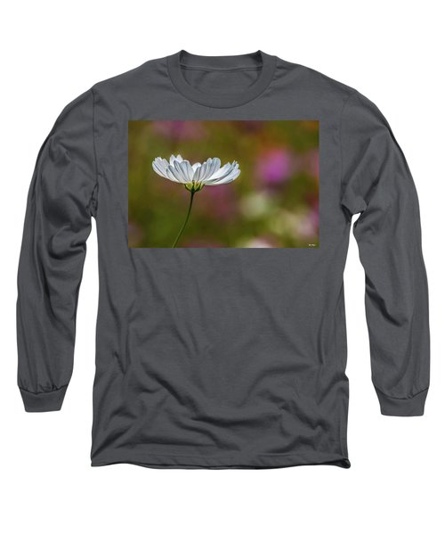 Field Of Wildflowers Long Sleeve T-Shirt