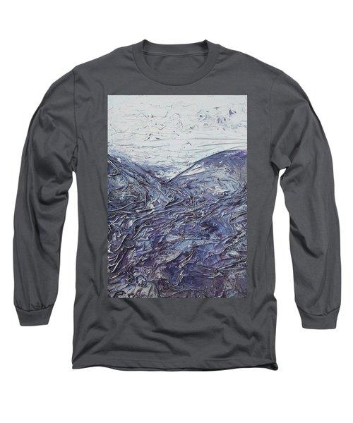 Fields Of Lavender Long Sleeve T-Shirt
