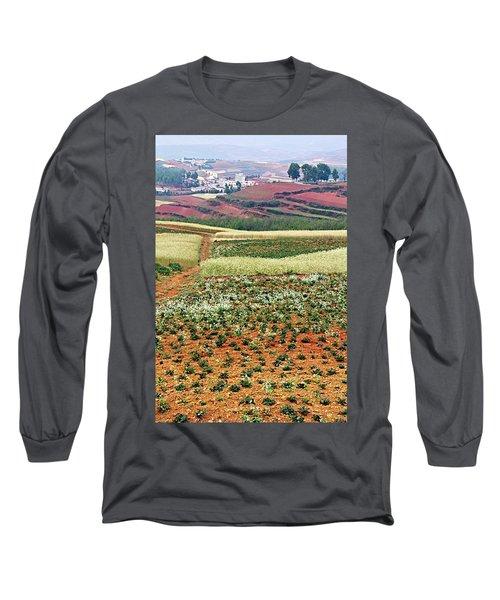 Fields Of The Redlands - 2 Long Sleeve T-Shirt