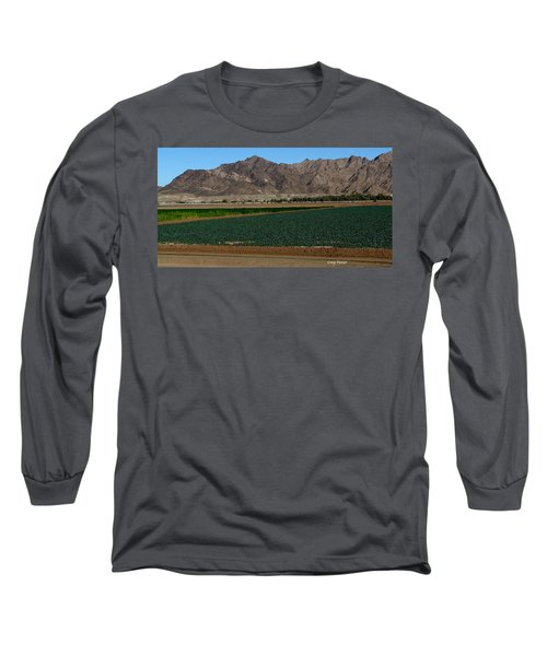 Fields Of Yuma Long Sleeve T-Shirt