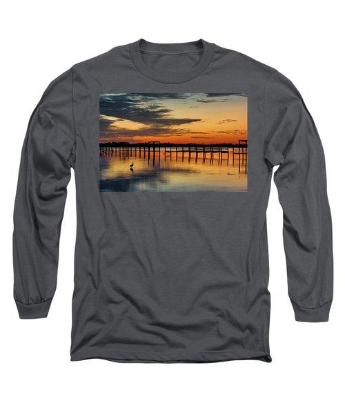 Fiery Beginning Long Sleeve T-Shirt