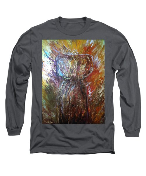 Fiery Earth Latte Stone Long Sleeve T-Shirt