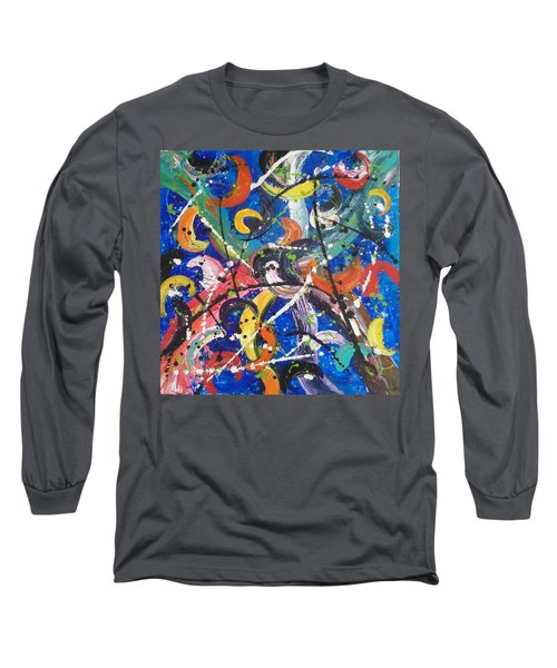 Fiesta Blue Long Sleeve T-Shirt