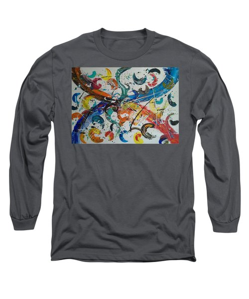 Fiesta White Long Sleeve T-Shirt