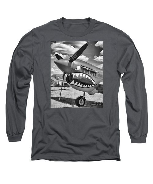 Long Sleeve T-Shirt featuring the photograph Fighting Tiger by Ricky L Jones