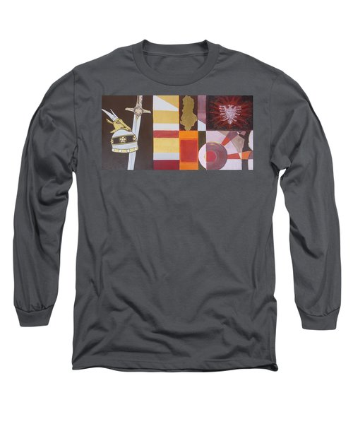Figurativ Albanian Simbols Long Sleeve T-Shirt