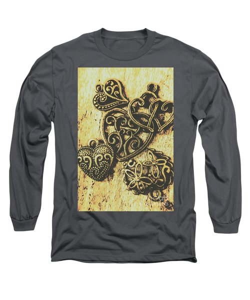 Filigree Love Long Sleeve T-Shirt