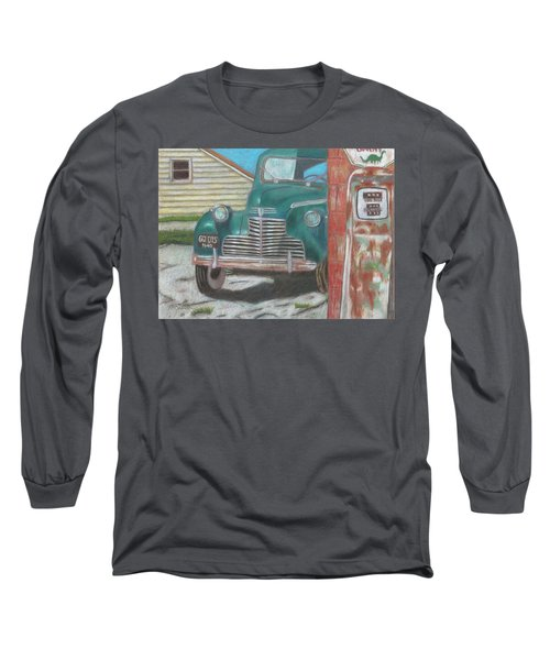 Fill 'er Up Long Sleeve T-Shirt by Arlene Crafton
