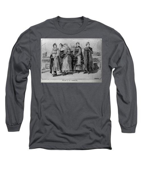 Filles A La Cassette Long Sleeve T-Shirt