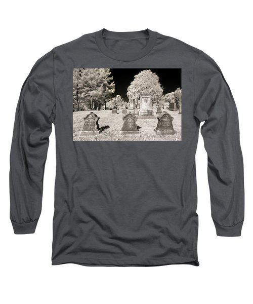 Long Sleeve T-Shirt featuring the photograph Final Three by Brian Hale