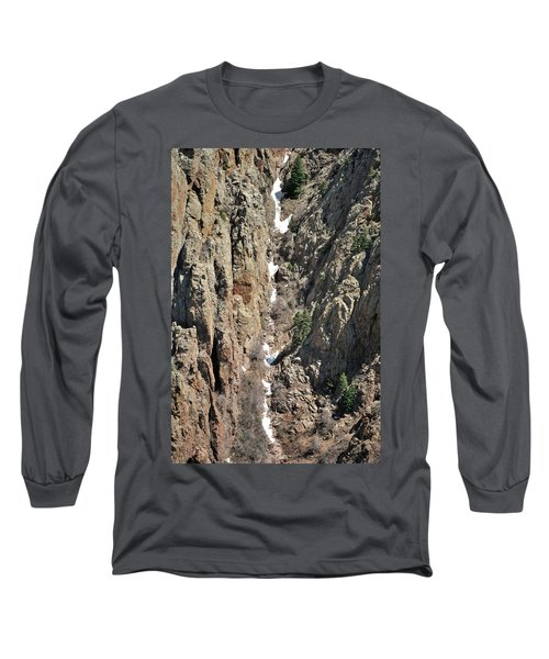 Final Traces Of Snow Long Sleeve T-Shirt