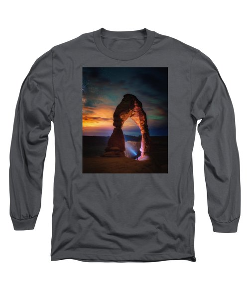 Finding Heaven Long Sleeve T-Shirt by Darren White