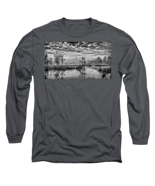 Fine Art Jersey Pines Landscape Long Sleeve T-Shirt