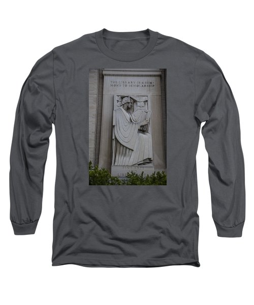 Fine Art Library Penn State  Long Sleeve T-Shirt by John McGraw
