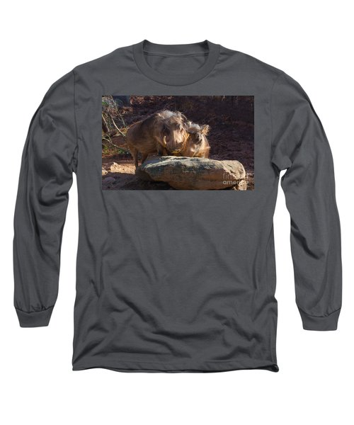Fine Looking Couple Long Sleeve T-Shirt by Donna Brown