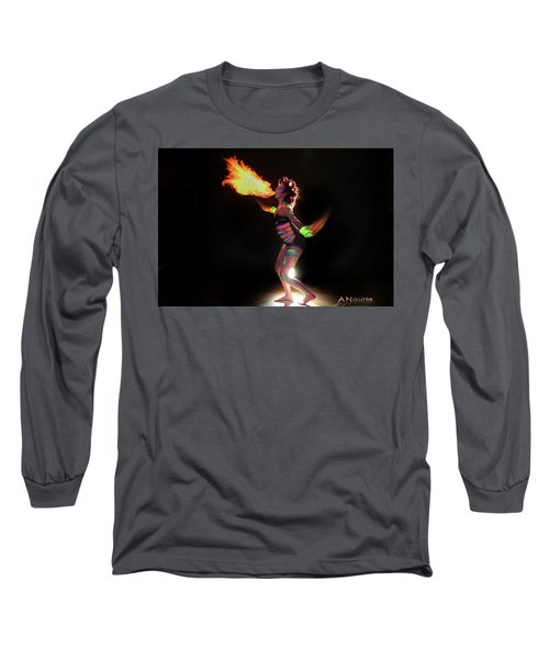 Fire Blowin Long Sleeve T-Shirt