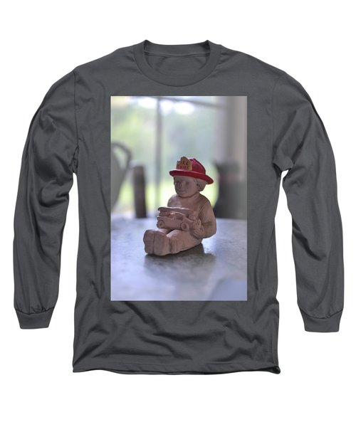 Fire Chief Molded Stone Long Sleeve T-Shirt