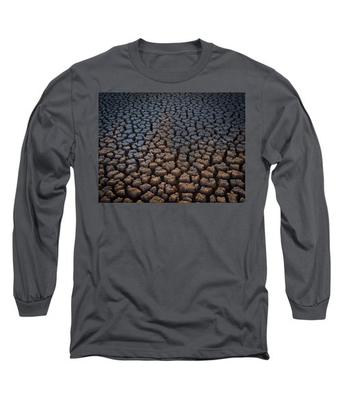 Fire Cracks Long Sleeve T-Shirt