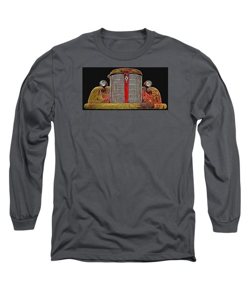 Fire Engine Red Long Sleeve T-Shirt