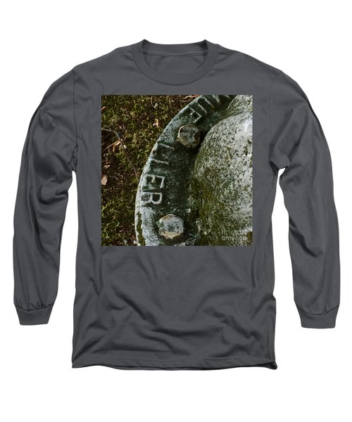 Fire Hydrant #10 Long Sleeve T-Shirt by Suzanne Lorenz