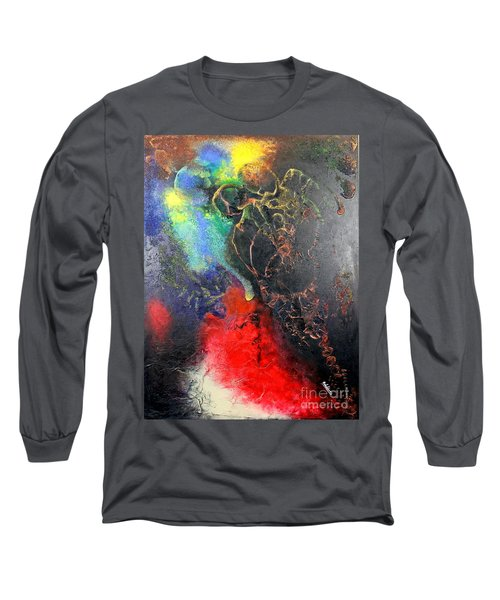 Fire Of Passion Long Sleeve T-Shirt by Farzali Babekhan