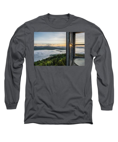 Fire Tower Sunburst Long Sleeve T-Shirt