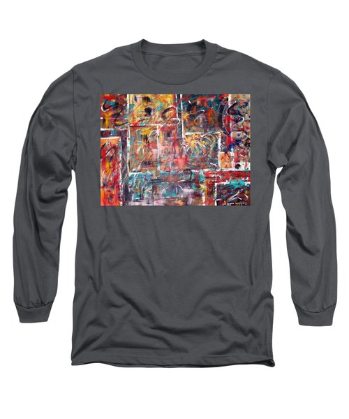 Fire Works Long Sleeve T-Shirt