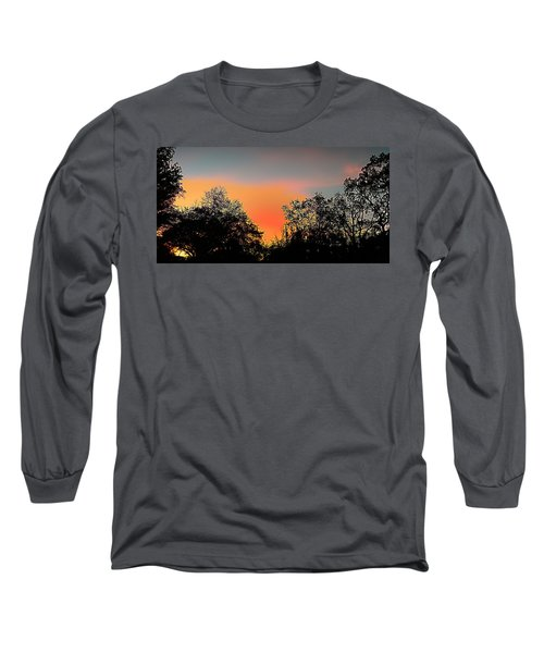 Long Sleeve T-Shirt featuring the painting Firefly by Steve Sperry