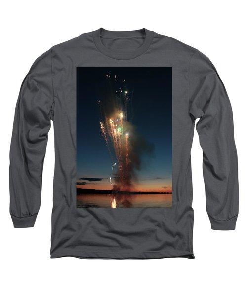 Fireworks After Sunset Long Sleeve T-Shirt