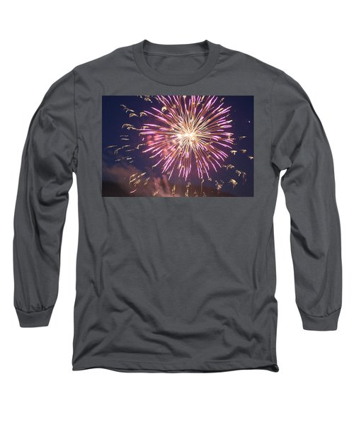 Fireworks In The Park 2 Long Sleeve T-Shirt