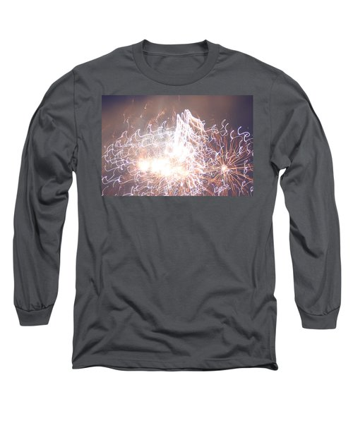 Fireworks In The Park 6 Long Sleeve T-Shirt