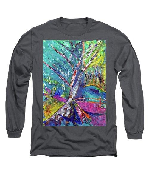 Firey Birch Long Sleeve T-Shirt