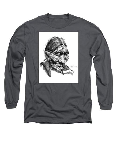 First 100 Years Long Sleeve T-Shirt by Lawrence Tripoli