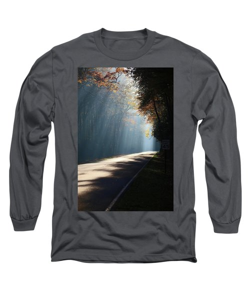 First Light Long Sleeve T-Shirt by Lamarre Labadie