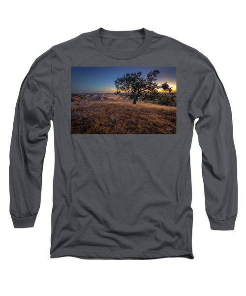 First Light On The  Canyon Ranch Long Sleeve T-Shirt