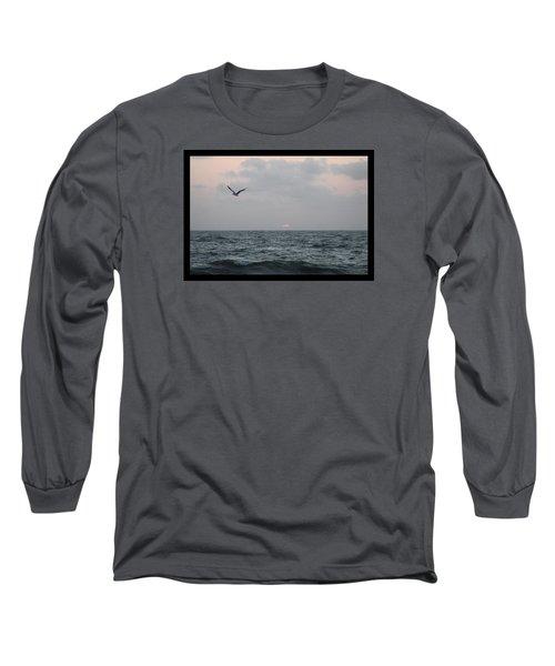First Light Long Sleeve T-Shirt by Robert Banach