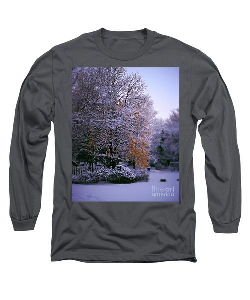 First Snow After Autumn Long Sleeve T-Shirt