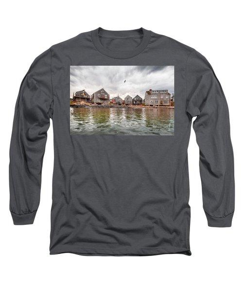 Fish Beach Long Sleeve T-Shirt
