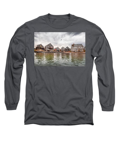 Fish Beach Long Sleeve T-Shirt