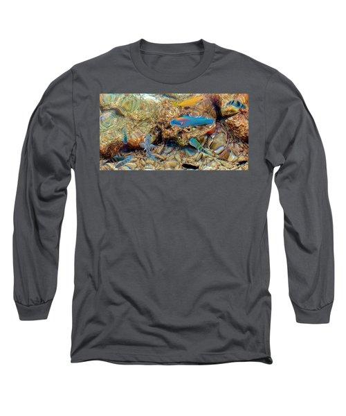 Fish Long Sleeve T-Shirt by Betty Buller Whitehead