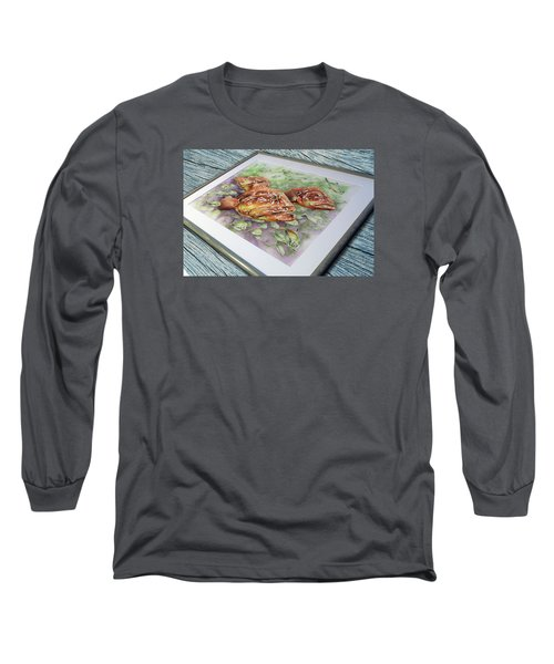 Fish Bowl 2 Long Sleeve T-Shirt by William Love