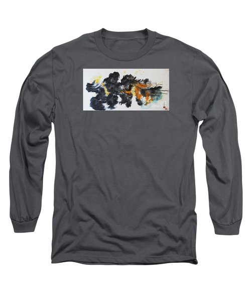 Fish In Stream 12030015fy Long Sleeve T-Shirt