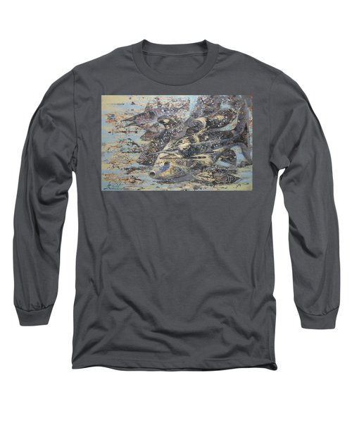 Fishes. Monotype Long Sleeve T-Shirt