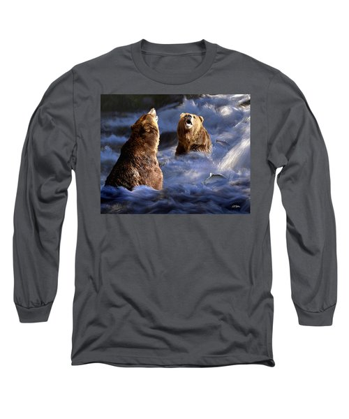 Fishing Alaska Long Sleeve T-Shirt