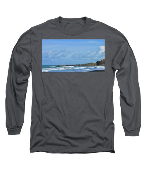Fishing At Kare Kare Long Sleeve T-Shirt