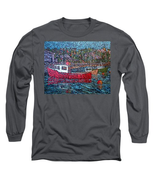 Fishing Boats - Beaver Harbour Long Sleeve T-Shirt