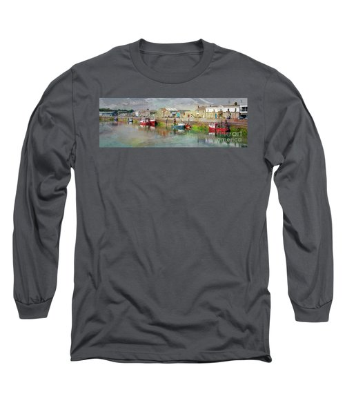 Fishing Boats In Ireland Long Sleeve T-Shirt