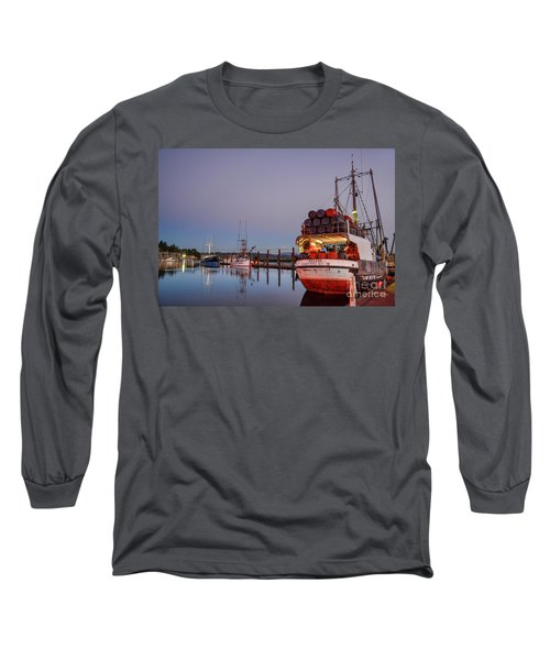 Fishing Boats Waking Up For The Day Long Sleeve T-Shirt