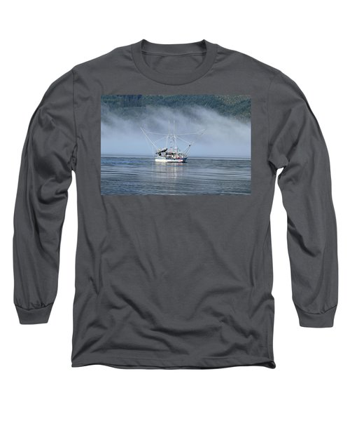 Fishing In Alaska Long Sleeve T-Shirt