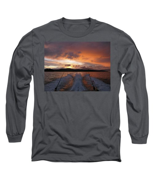 Fishing In The Sun Long Sleeve T-Shirt